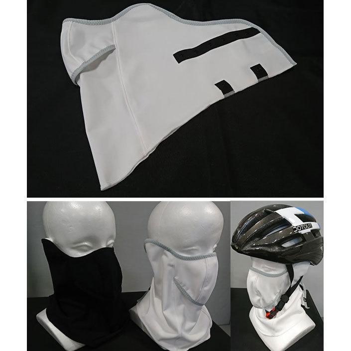 パールイズミ 【FA-3K】コールドシェイド UVフェイスカバー 2.ホワイト PEARLIZUMI|worldcycle-wh|07