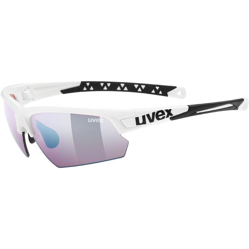ウベックス sportstyle 224 colorvision ホワイト(アウトドア) サングラス