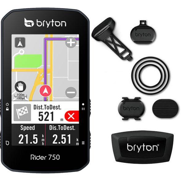 【特急】ブライトン Rider750T トリプルキット(ケイデンス、スピード、心拍センサー付) GPS|worldcycle