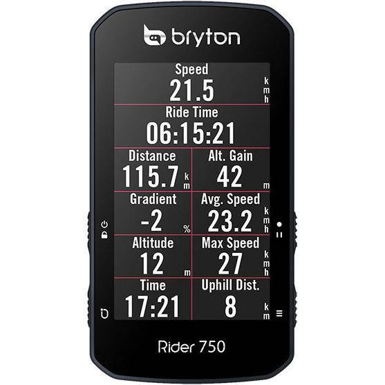 【特急】ブライトン Rider750T トリプルキット(ケイデンス、スピード、心拍センサー付) GPS|worldcycle|02