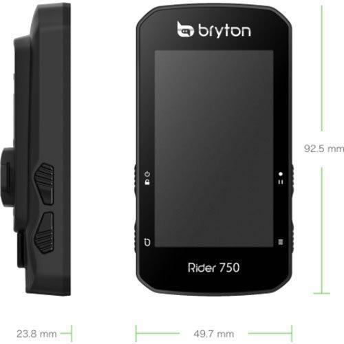 【特急】ブライトン Rider750T トリプルキット(ケイデンス、スピード、心拍センサー付) GPS|worldcycle|07
