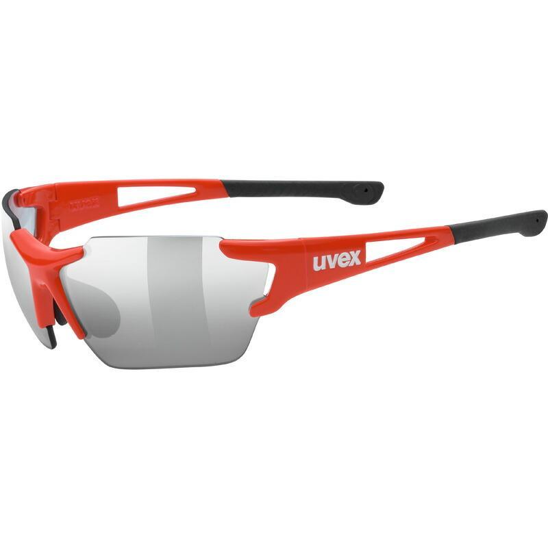 ウベックス sportstyle 803 race vm small レッド サングラス(調光レンズ)