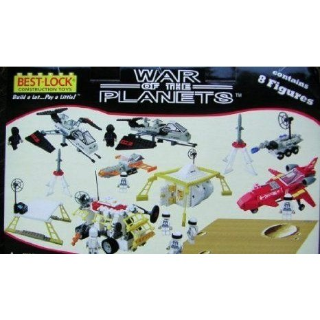 1000 Piece War of the Planet Space Set