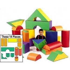 12 in. Big Blocks Set B ブロック おもちゃ