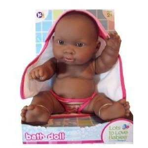 14 Inch Lots of Love African American Bath Time Doll ドール 人形 フィギュア