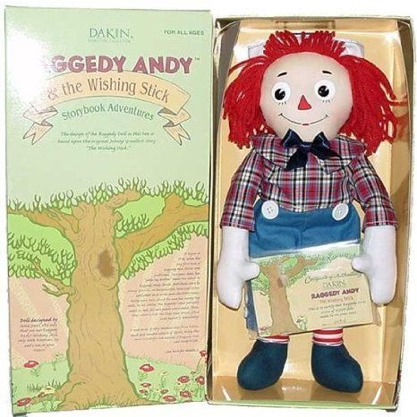 16 inch Raggedy Andy and the Wishing Stick Doll ドール 人形 フィギュア