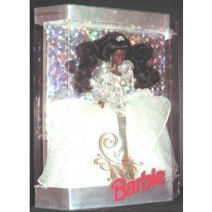 1992 Happy Holidays Barbie(バービー) Africa American Doll ドール 人形 フィギュア