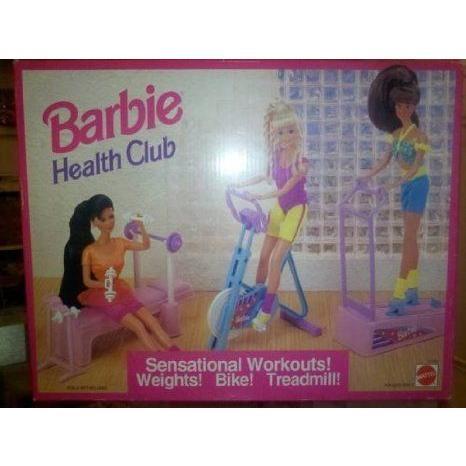 1993 Barbie(バービー) Health Club By Mattel ドール 人形 フィギュア