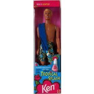 1994 Mattel (マテル社) Barbie(バービー) Tropical Splash KEN 12447 ドール 人形 フィギュア