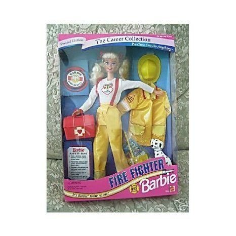 1994 The Career Collection - Fire Fighter Barbie(バービー) ドール 人形 フィギュア