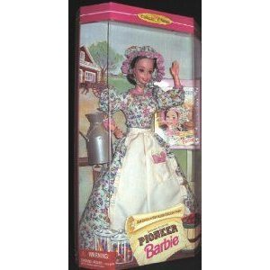 1995 American Stories Collection Second Edition PIONEER Barbie(バービー) ドール 人形 フィギュア
