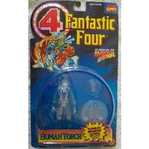 1995 Fantastic Four (ファンタスティック4) 4 Invisible Woman Error Packaged As Human Torch アクショ