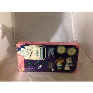 1996 Barbie(バービー) Pretty Treasures Picnic Set ドール 人形 フィギュア
