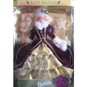 1996 Happy Holidays Barbie(バービー) ドール 人形 フィギュア