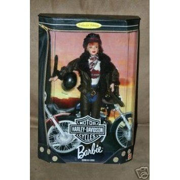 1998 Barbie(バービー) Collector Edition : Harley Davidson Motor Cycles 赤 Head Barbie(バービー) s