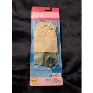 2002 Ken Barbie(バービー) Doll Fashions 緑 Shorts Shoes & Sandals ドール 人形 フィギュア