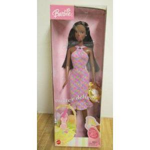 2003 Mattel (マテル社) Barbie(バービー) Easter Delights (黒) ドール 人形 フィギュア