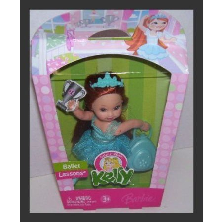 2006 Ballet Lessons Barbie(バービー) Kelly Doll in 青 with 赤 Hair ドール 人形 フィギュア