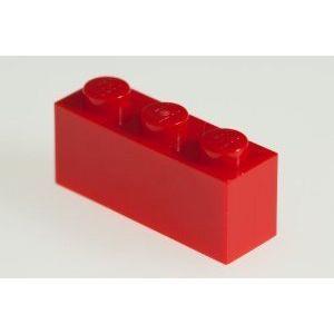 200x LEGO (レゴ) R 赤 1x3 Bricks ブロック おもちゃ
