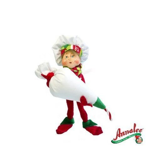 2012 Annalee Dolls 9 *Decorating Chef Elf* Ready for Christmas ドール 人形 フィギュア
