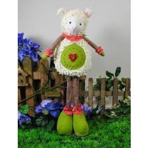 8x4.75x23.5-inch Standing Sheep, Decoration Gift Sale ドール 人形 フィギュア