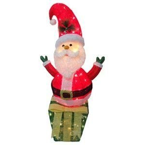 40Sisal Santa/Gift Box ドール 人形 フィギュア