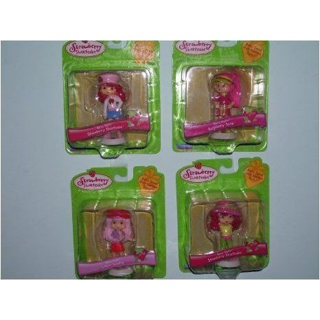 5 Strawberry Shortcake Figurines Sold As a Set ドール 人形 フィギュア