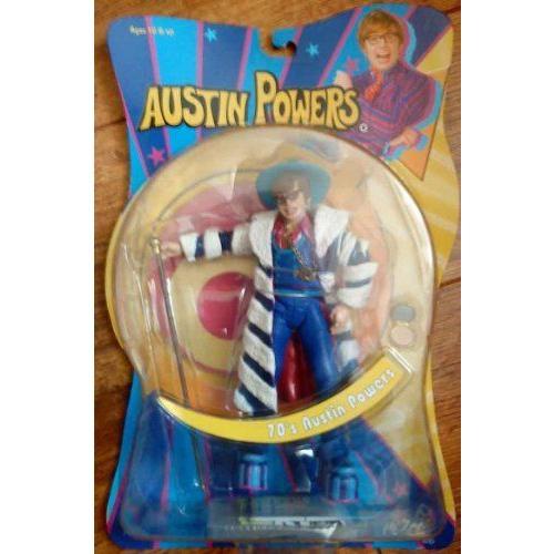 70'S Austin Powers Figure From ゴールドmember Mip By Mezco Toys フィギュア ダイキャスト 人形