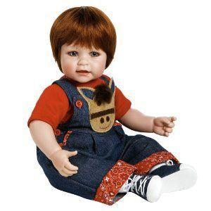 Adora (アドラ アドラドール) Baby Doll 20 Giddy Up Boy (赤 Hair/青 Eyes) ドール 人形 フィギュア