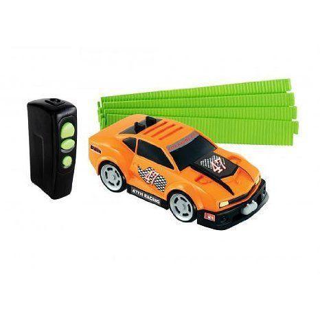 AI Tech Racing Individual Cars - オレンジ ミニカー ミニチュア 模型 プレイセット自動車 ダイキャスト