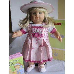 American Girl (アメリカンガール) Bitty Twin Spring Picnic Jumper Set ドール 人形 フィギュア