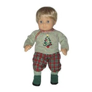 American Girl Bitty Baby Twins Festive Plaid Outfits フィギュア ダイキャスト 人形