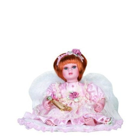 ANGEL OF HOPE 12 Porcelain Novelty Doll By ゴールドen Keepsakes ドール 人形 フィギュア