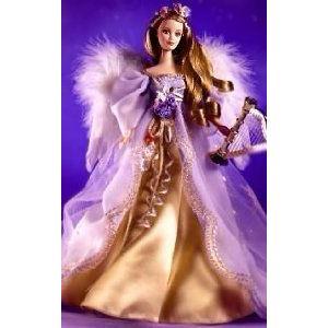Angels of Music Harpist Barbie(バービー) Doll Mattel (マテル社) 1st in Collection ドール 人形 フィ