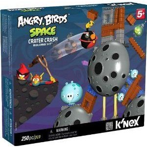 Angry Bird (アングリーバード) Space KNEX Exclusive Building Set #72437 Crater Crash ブロック おも