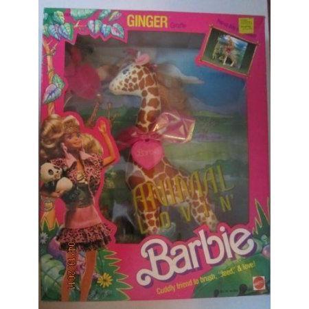 Animal Lovin Barbie(バービー) Ginger Giraffe ドール 人形 フィギュア