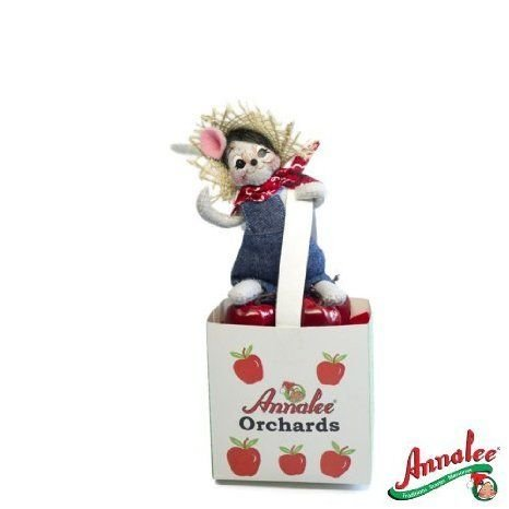 Annalee Mobilitee Doll Harvest Thanksgiving Orchards Mouse 5 ドール 人形 フィギュア