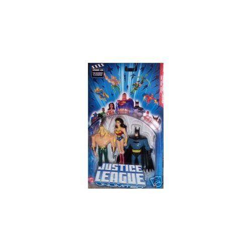 Aquaman Wonder Woman Batman バットマン Justice League Unlimited 3 Pack フィギュア ダイキャスト 人