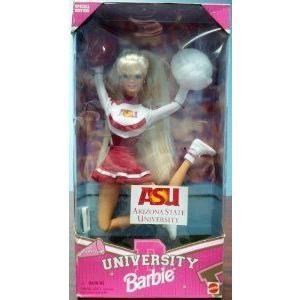 Arizona State University Barbie(バービー) Cheerleader ドール 人形 フィギュア
