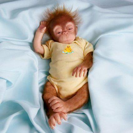 Ashton Drake Little Jala Baby Orangutan Doll ドール 人形 フィギュア