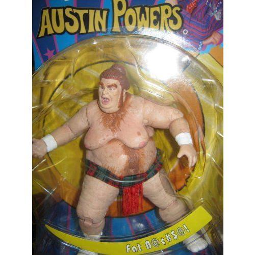 Austin Powers - Fat Bastard アクションフィギュア - 2002 Mezco フィギュア 人形 おもちゃ