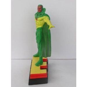 Avengers (アベンジャーズ) Resin フィギュア 人形 - Vision on Letter Base E フィギュア おもちゃ 人形