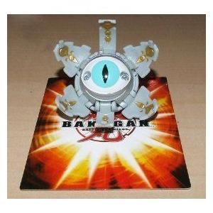 Bakugan (バクガン) B2 Bakuclear Single LOOSE フィギュア 人形 Haos グレー TENTACLEAR フィギュア おも
