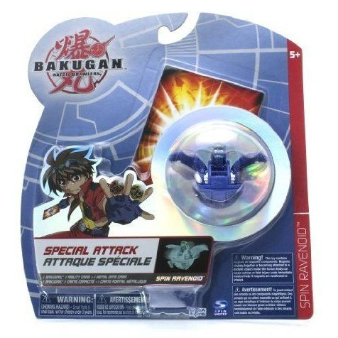 Bakugan (バクガン) Battle Brawlers Special Attack 青 Spin Ravenoid - NOT Randomly Picked, Shown