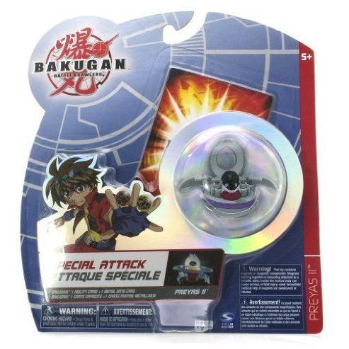 Bakugan (バクガン) Battle Brawlers Special Attack Gray Preyas II - NOT Randomly Picked, Shown As I