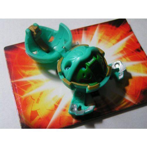 Bakugan バクガン Battle Brawlers - Classic Loose Figure - STINGLASH (Ventus - 緑) フィギュア ダ
