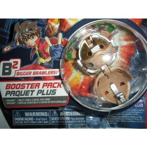 Bakugan バクガン Battle Brawlers Bakupearl B2 Series Booster Pack Sub Terra Tan Stinglash フィギュ