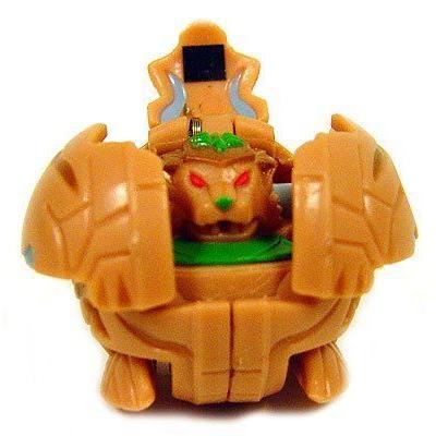 Bakugan バクガン Battle Brawlers Game Single LOOSE Figure Subterra Tigrerra (褐色) フィギュア ダ