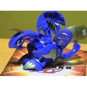 Bakugan 爆丸 Evolution 青 & 緑 Aquos Helios MK2 520G - Loose Figure フィギュア