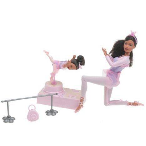 Ballerina Barbie(バービー) and Kelly - Ethnic ドール 人形 フィギュア